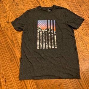 Old Navy Flag Tee Shirt
